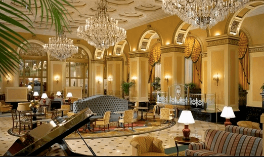 Omni William Penn Hotel. Concussion.