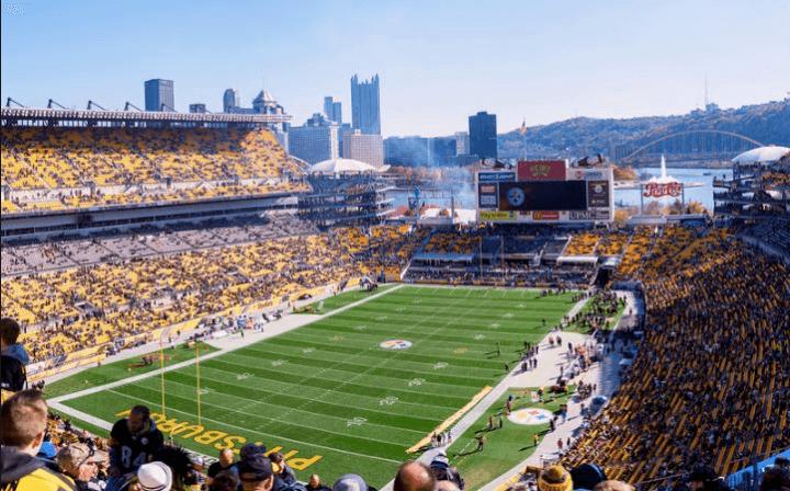 Pittsburgh Stadium. The Dark Knight