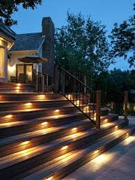 Lighted Deck Stairs Pittsburgh, Pennsylvania