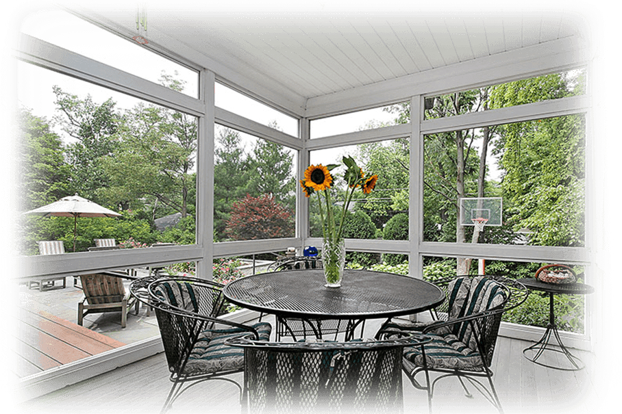 Screened In Porch with Deck in Pittsburgh
